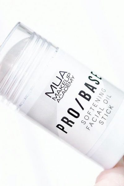 MUA Pro Base Softening Facial Oil Stick Review