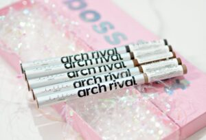 Lottie London Arch Rival Brow Pens and #CurlBoss Mascara