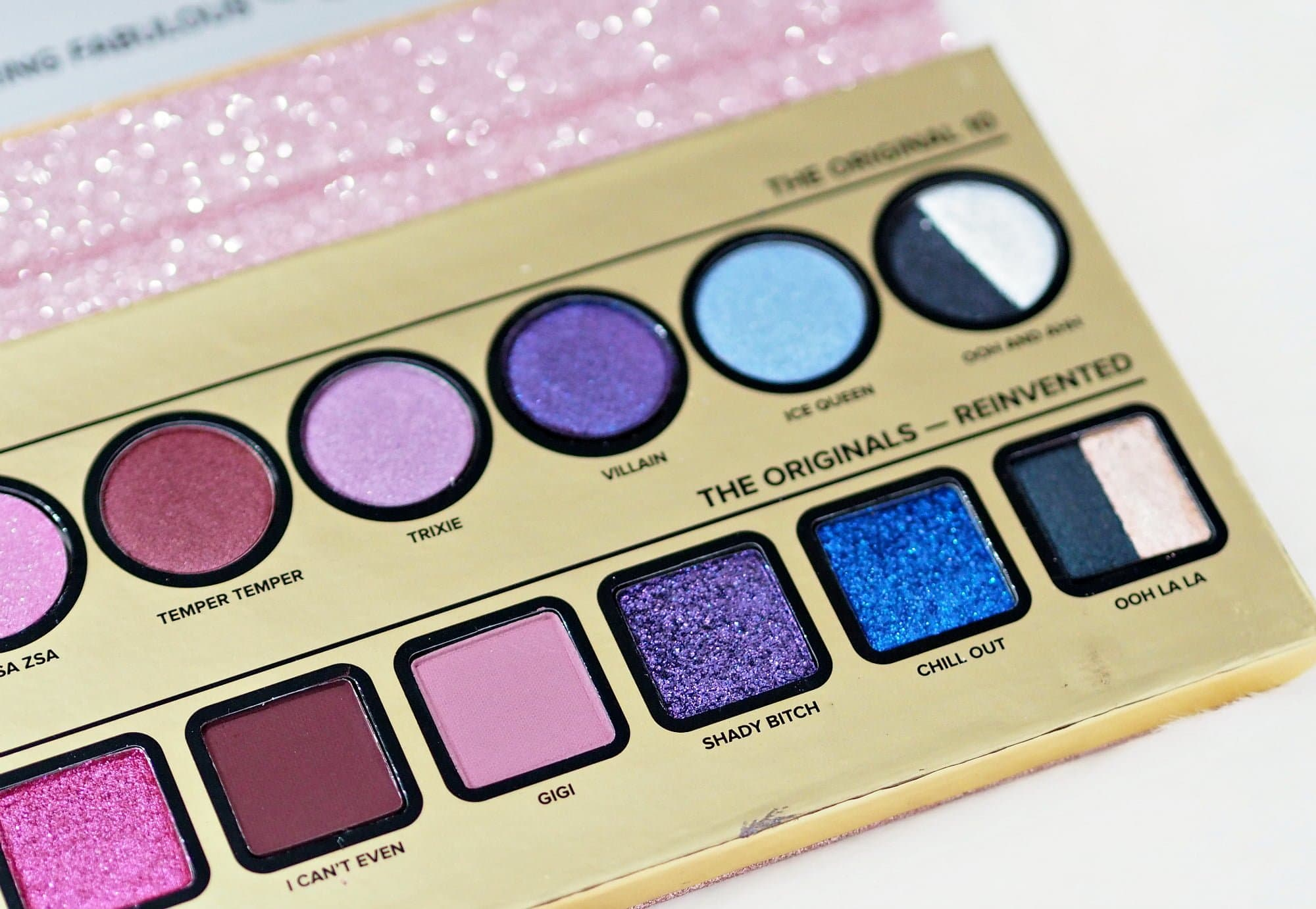 Review and Swatches of the Too Faced TF20 Makeup Collection ft the Then and Now Eyeshadow Palette, Mascara and Lipsticks.