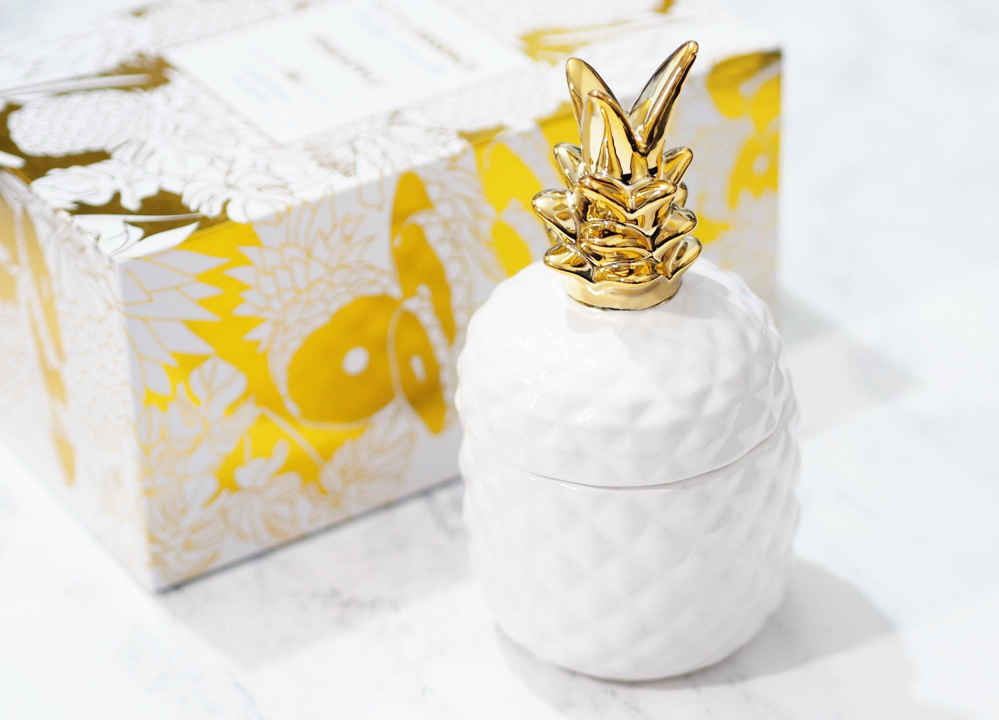 Royal Essence Pineapple Jewellery Candle