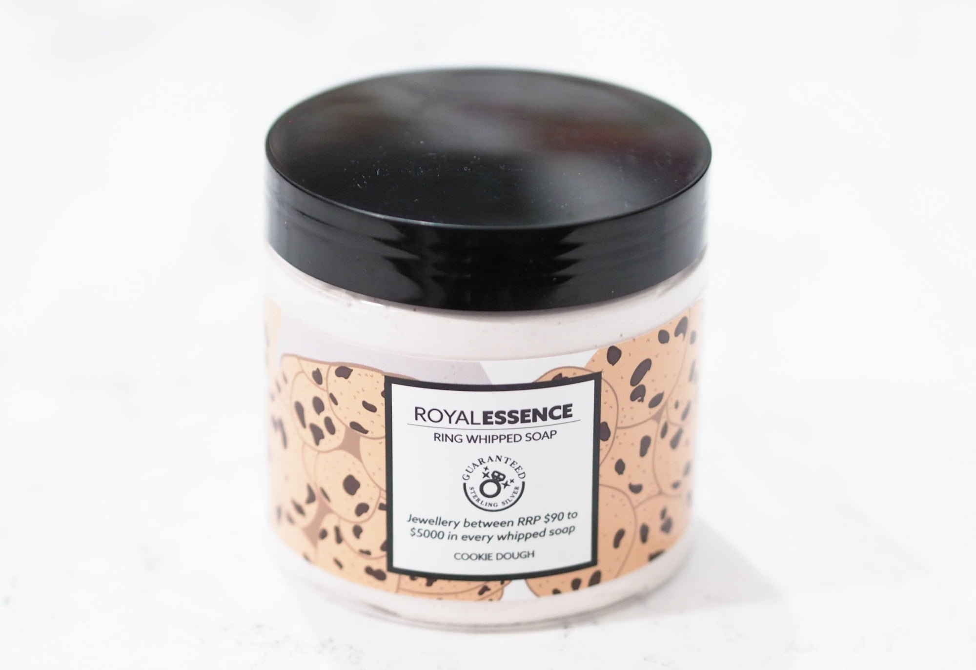 Royal Essence Jewellery Cookie Dough Whipped Soap PLUS GIVEAWAY!