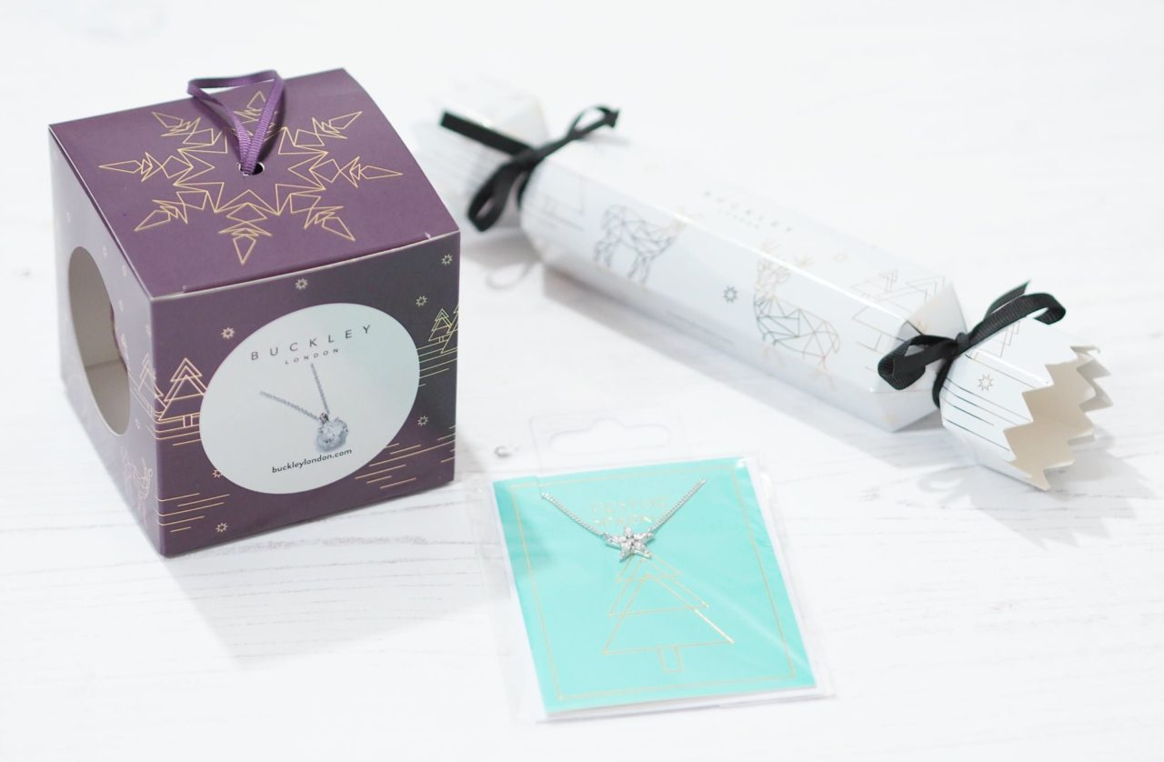 The Buckley London Christmas Gift Collection ft Jewellery Baubles, Jewellery Crackers and other jewellery gift ideas for women and men.
