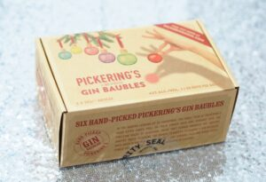 Pickering's Gin Baubles Review - Christmas Gift Guide