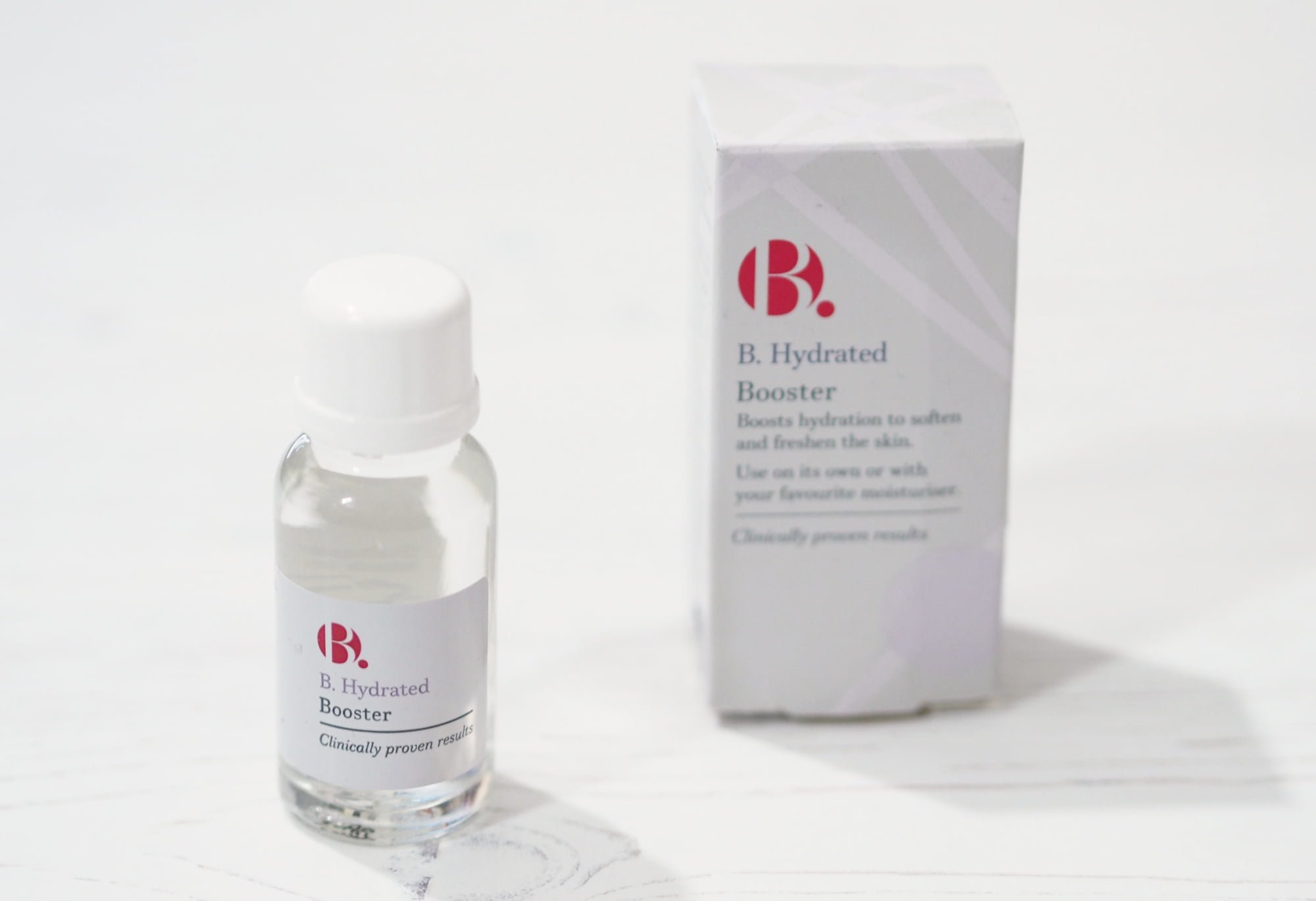 B Hydrated Booster + B Glowing Booster