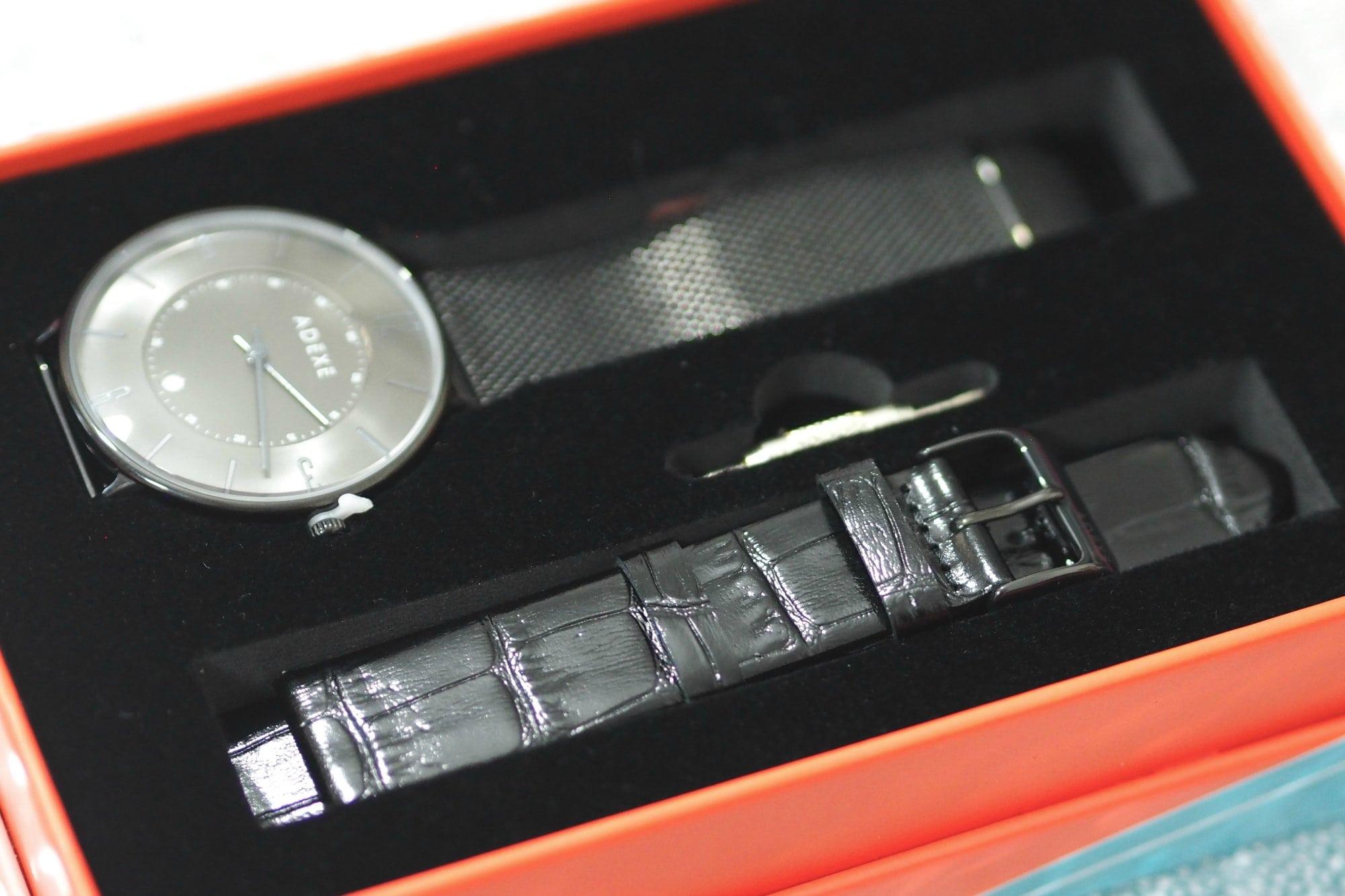 Adexe MAC Grande Gun Black Watch PLUS Giveaway!