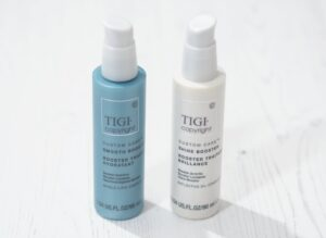 TIGI Copyright Custom Care Smooth Booster and Shine Booster