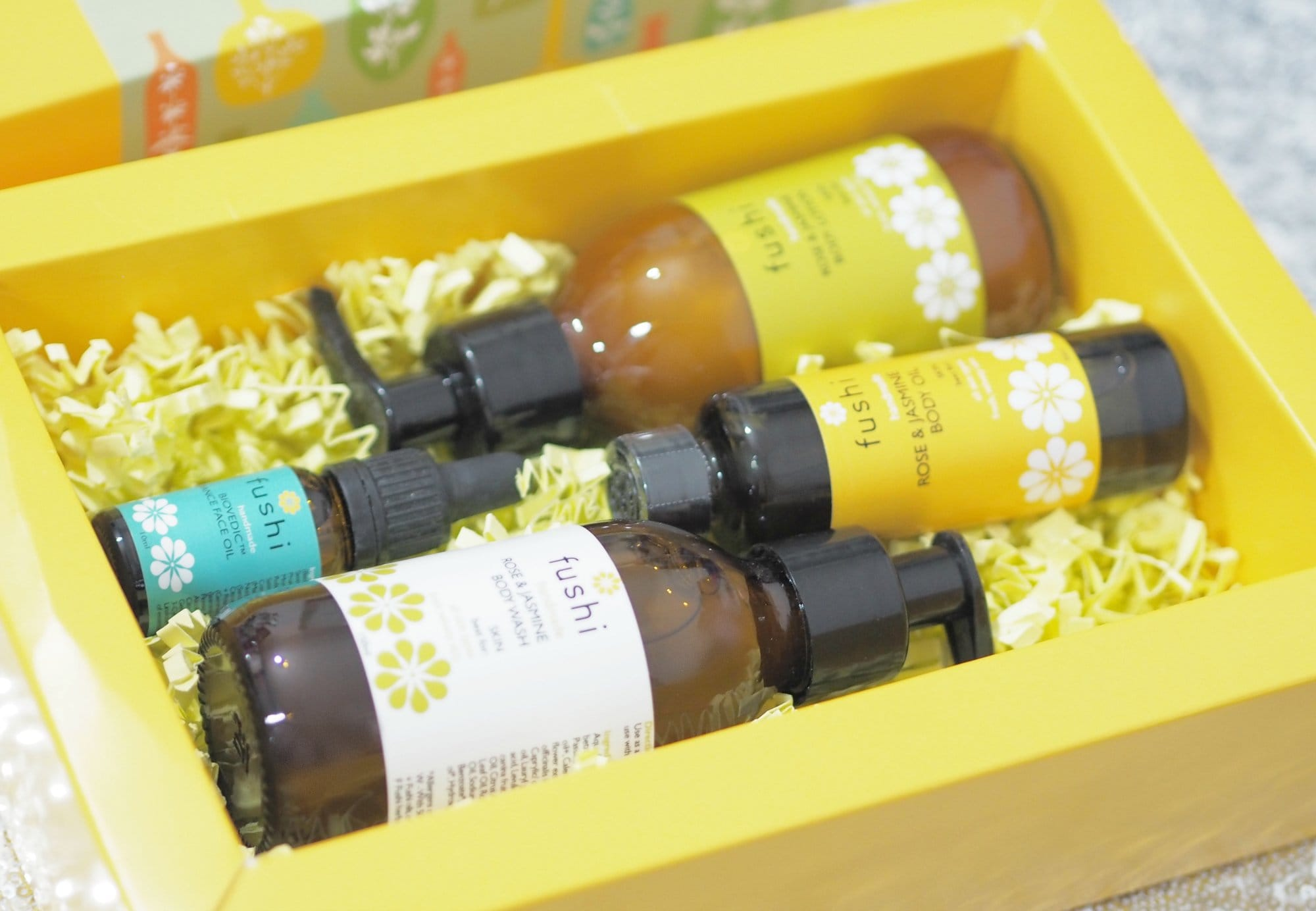 Fushi Heavenly Rose and Jasmine Complete Bodycare Collection