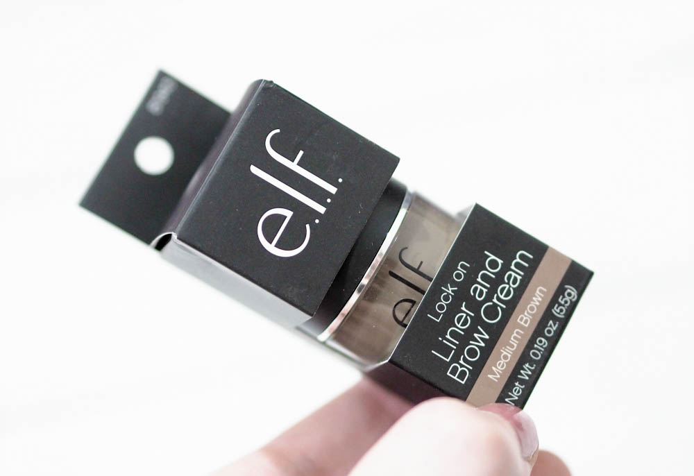 ELF Lock On Liner and Brow Cream Review + Swatches