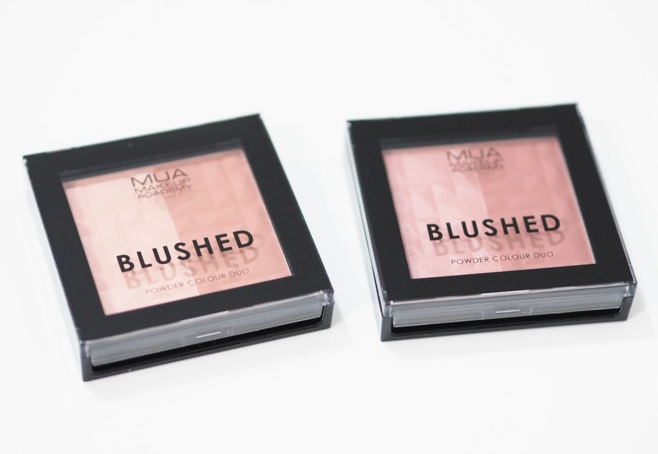 MUA Blushed Duos - Spice and Pepper Review and Swatches