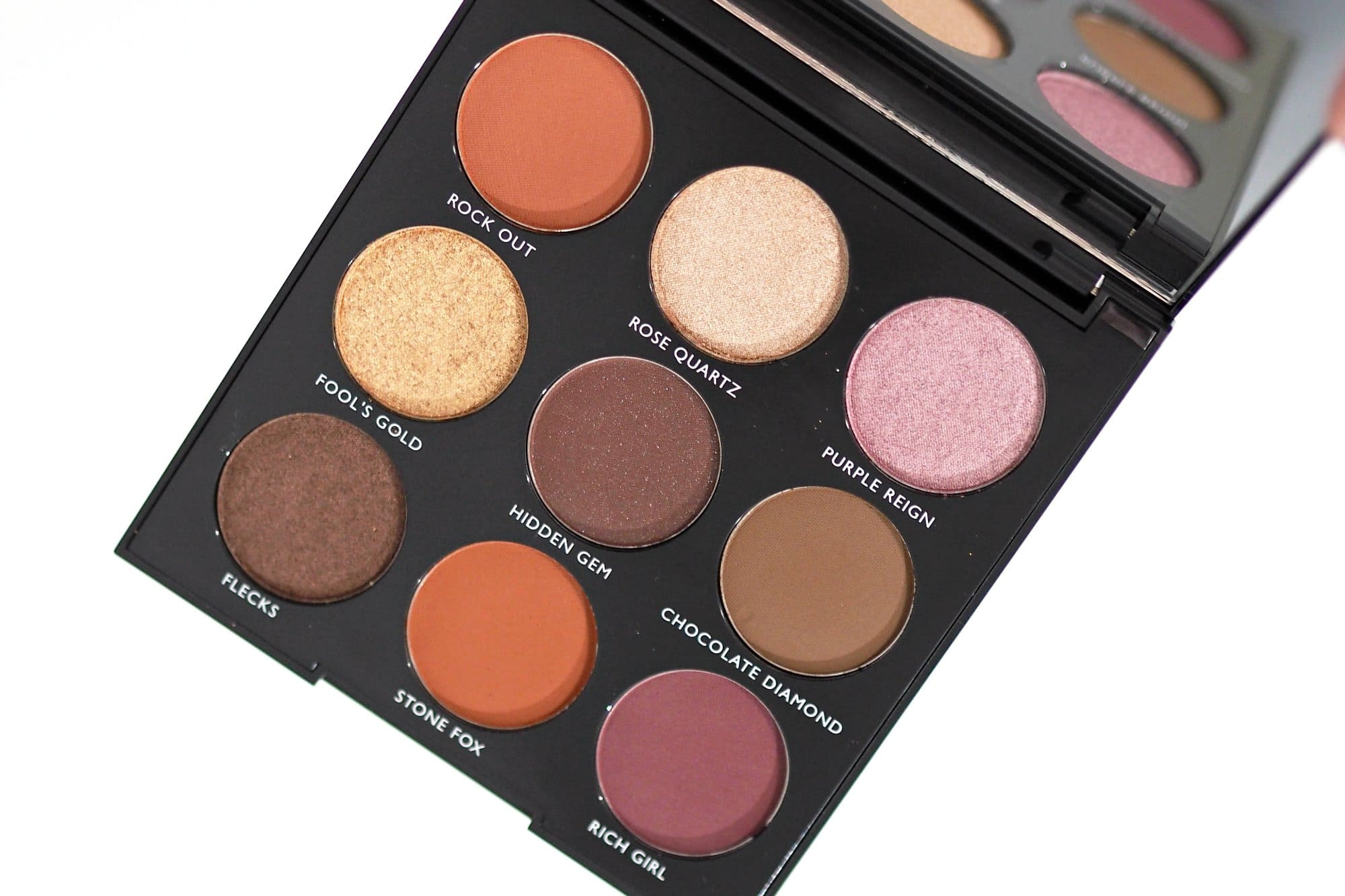 morphe 9c jewel crew eyeshadow palette review and swatches