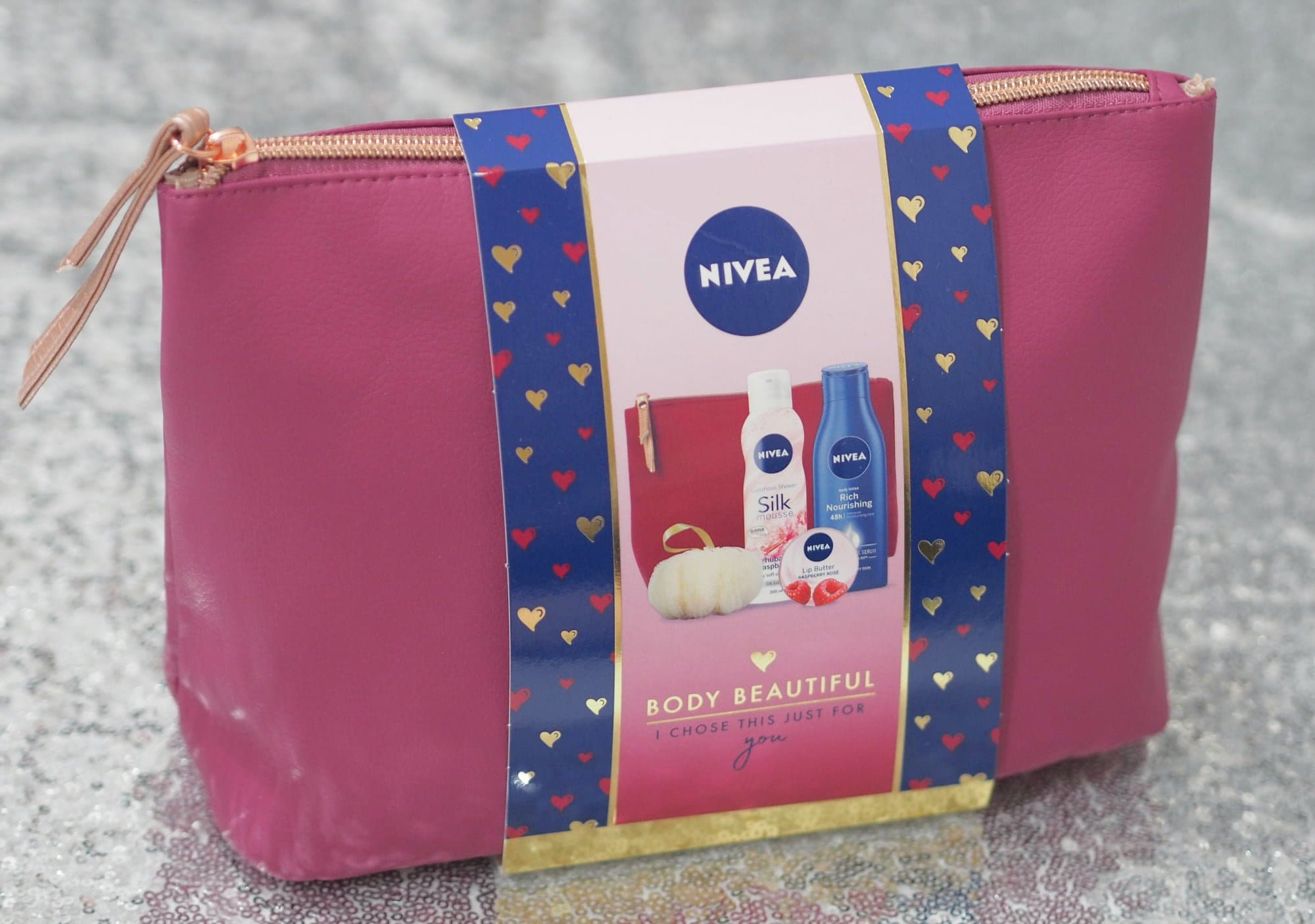 Nivea Christmas Gift Sets ft. the Nivea Body Beautiful Gift Set and the Nivea Spruce Up Wash Bag
