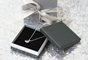 Nude Jewellery Majestic Amethyst and Silver Necklace