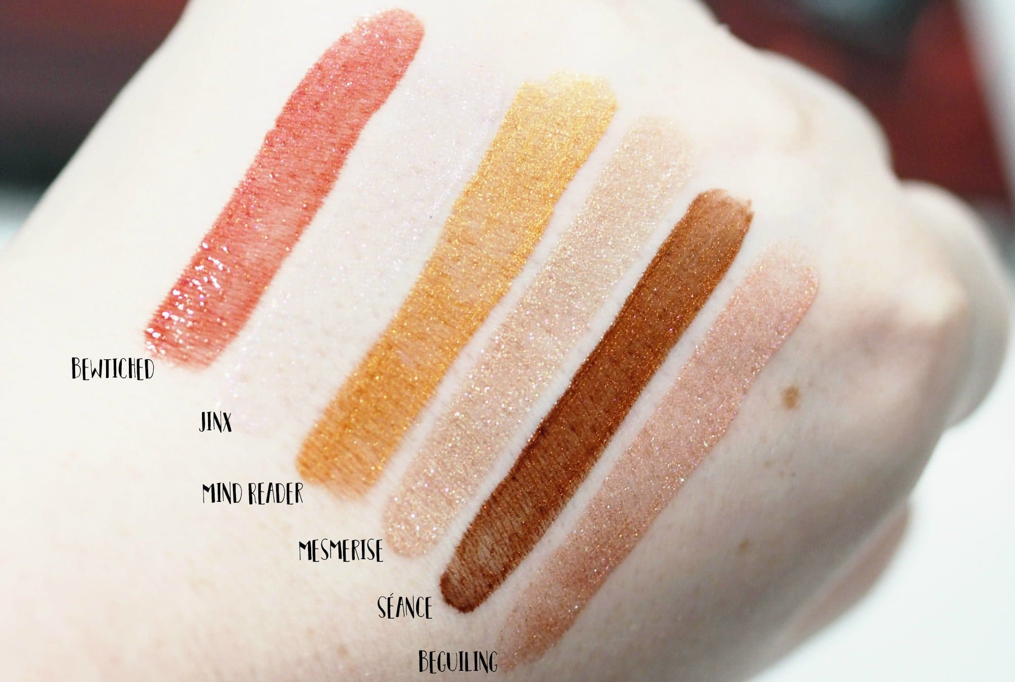 Morphe Molten Magic Lip Gloss Set Review and Swatches