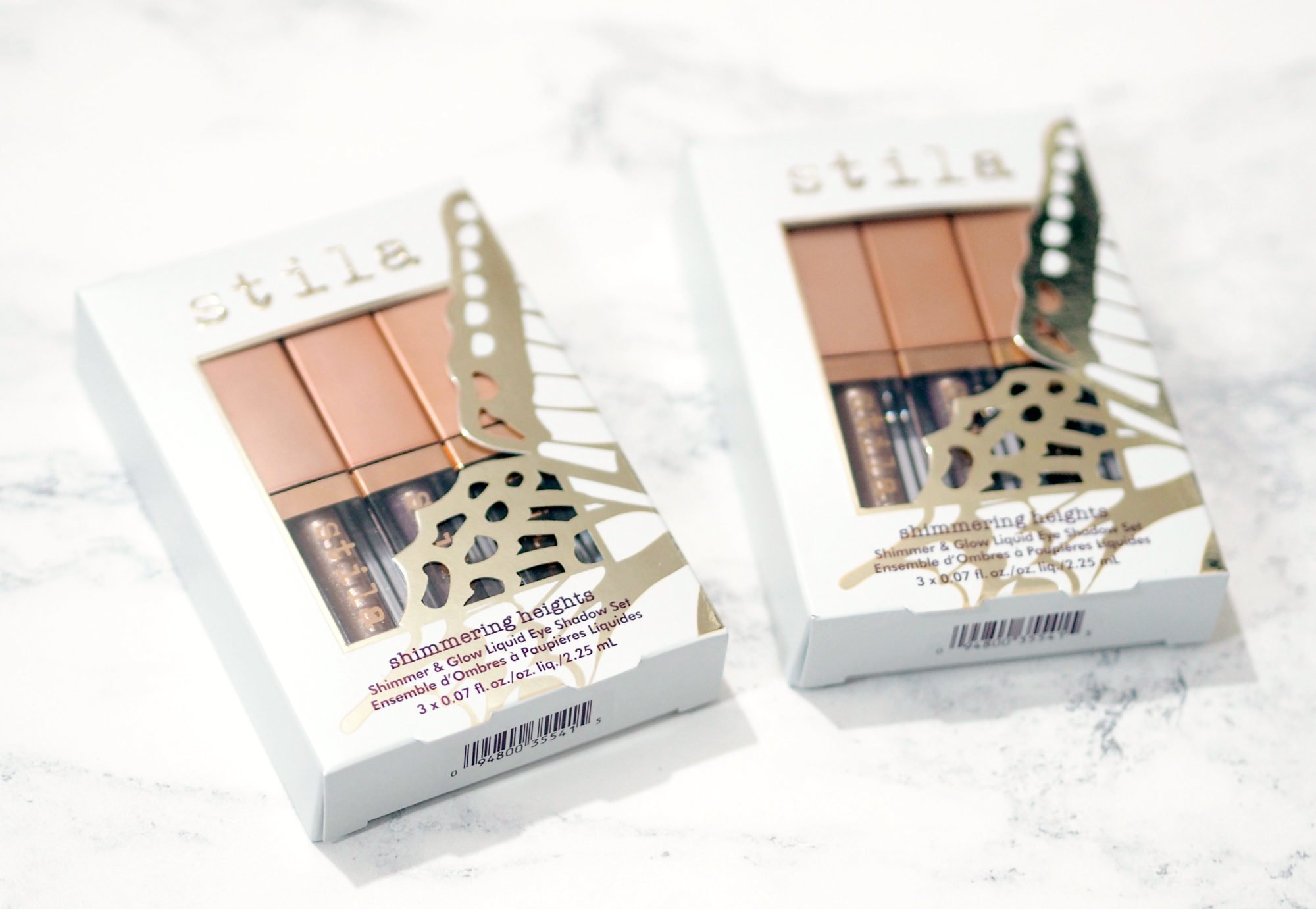 Stila Shimmering Heights Shimmer and Glow Eyeshadow Set PLUS Giveaway!