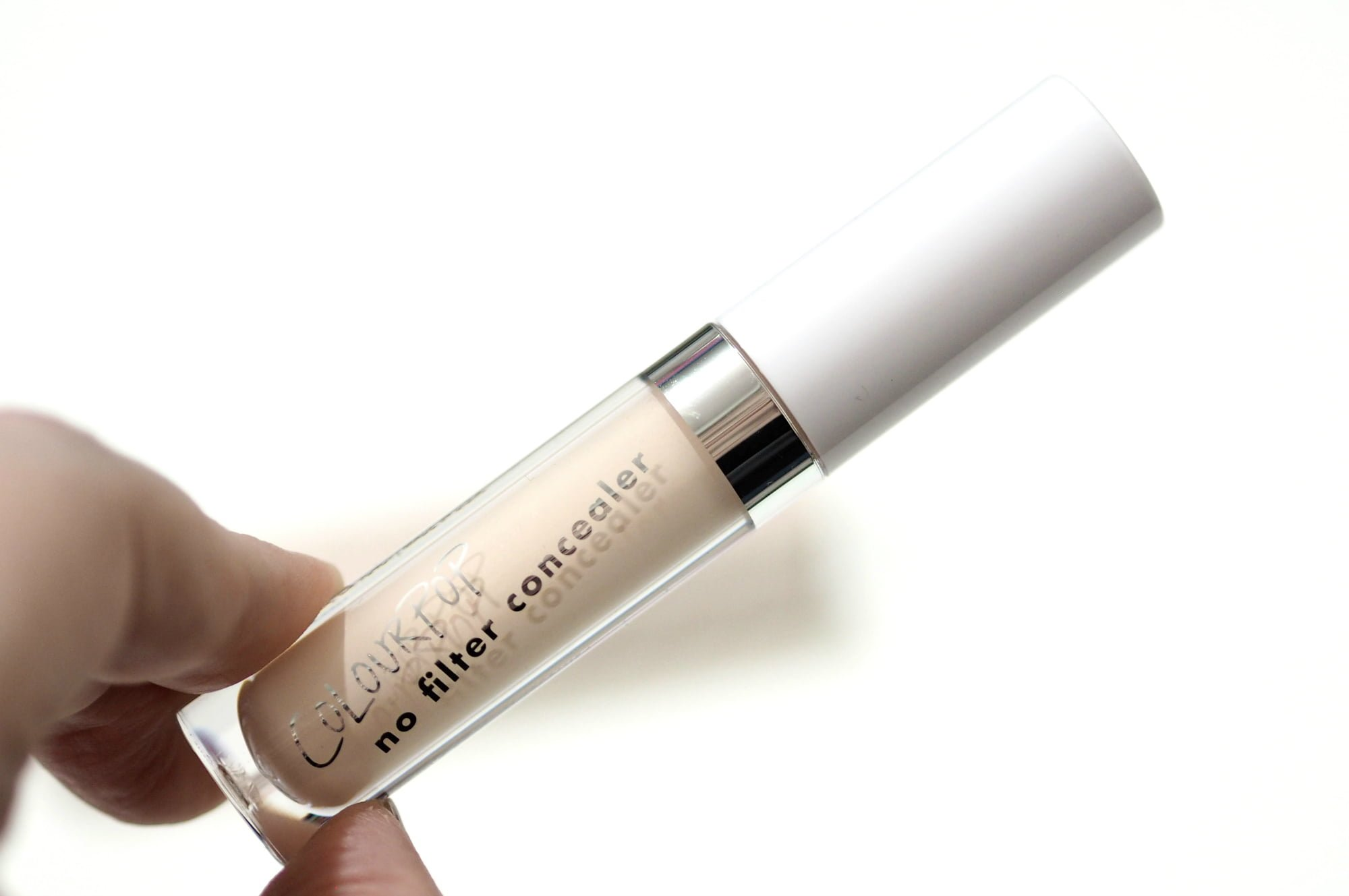 ColourPop No Filter Concealer Review and Swatches in shade Fair 02