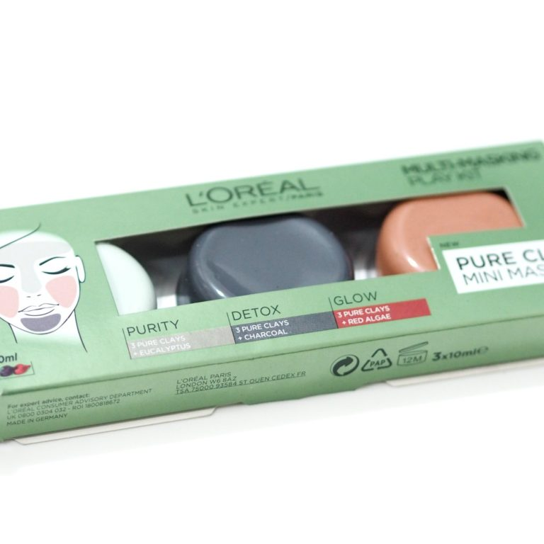 L'Oreal Pure Clay Face Masks