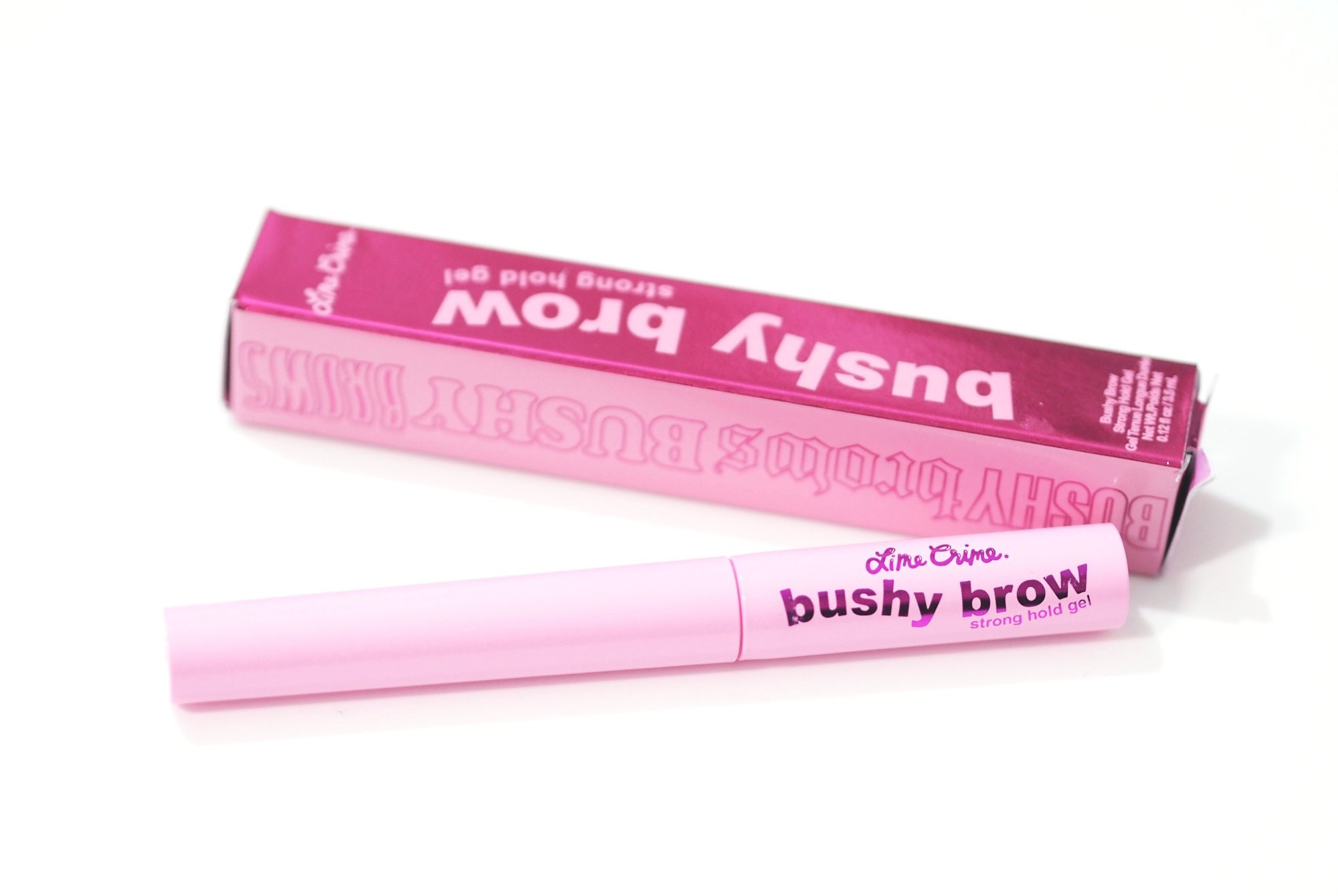 Lime Crime Bushy Brow Gel Review and Swatches in Smokey