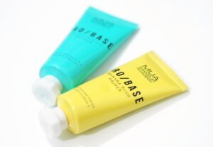 MUA Pro Base Banana Blur Primer and Moisturising Primer Review and Swatches