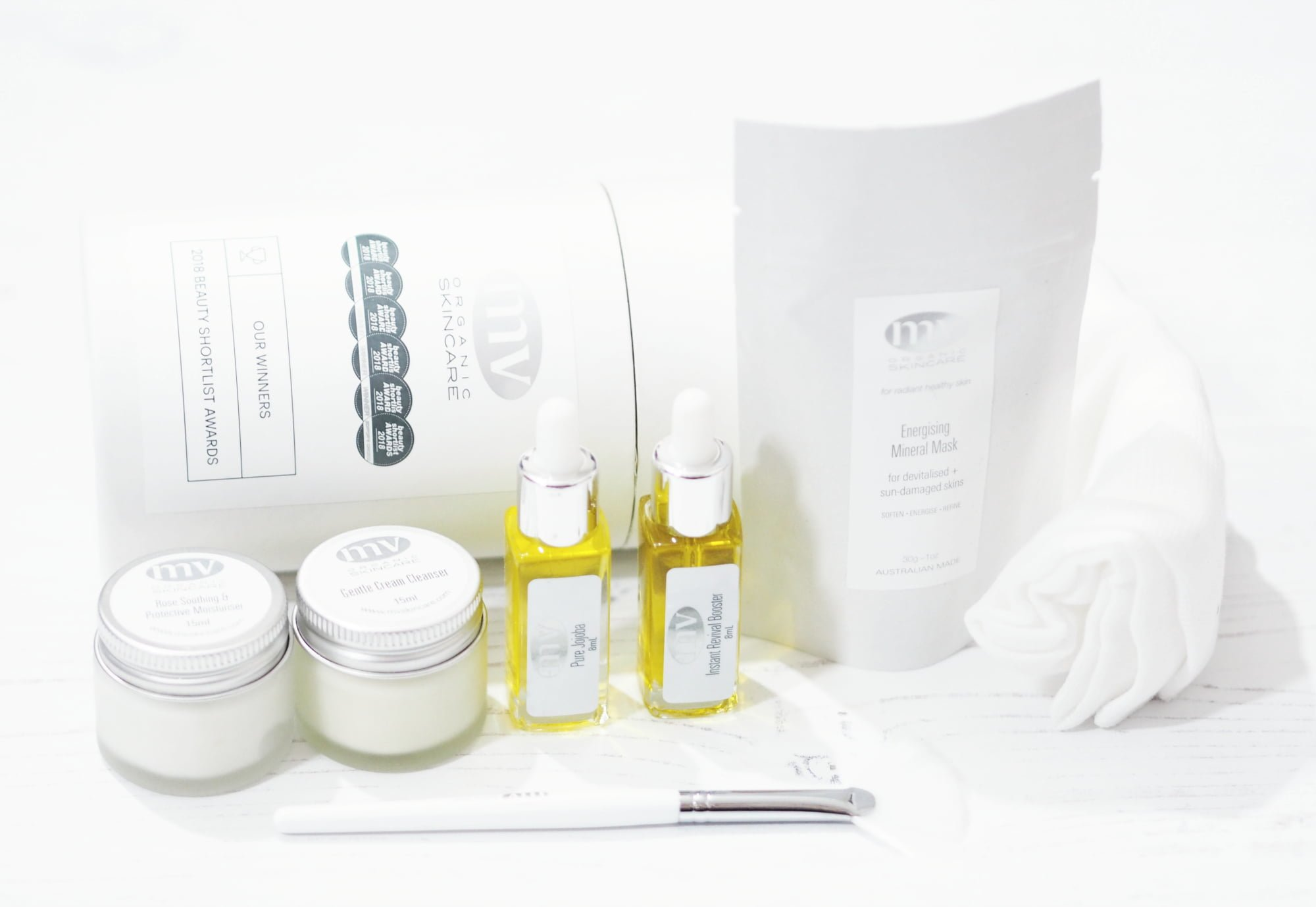 MV Organic Skincare Brand Spotlight Award Winning Natural Skincare
