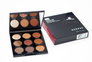 Morphe 9B Bronzed Babe Eyeshadow Palette Review and Swatches