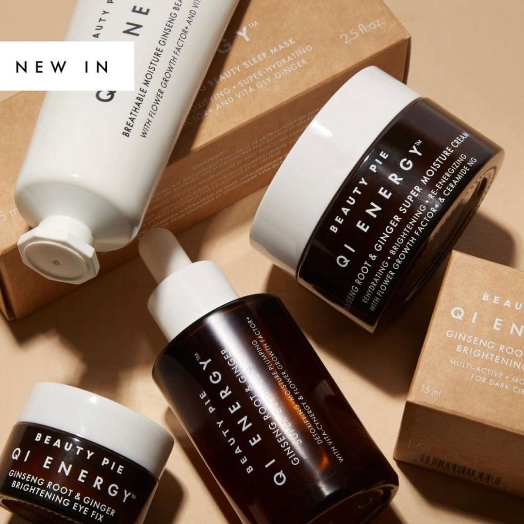 Beauty Pie QI Energy Skincare Collection - Info, Stockists + More