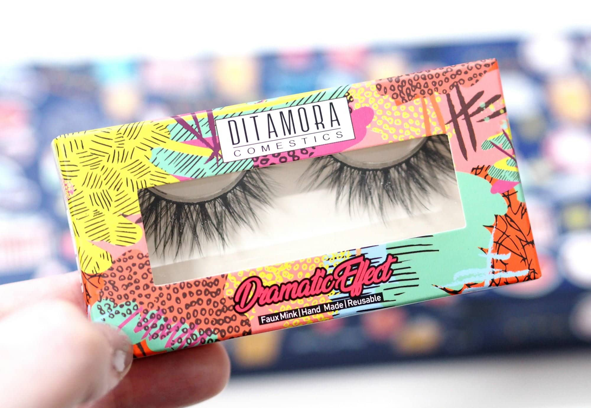 Ditamora Faux Mink Lashes Dramatic Box
