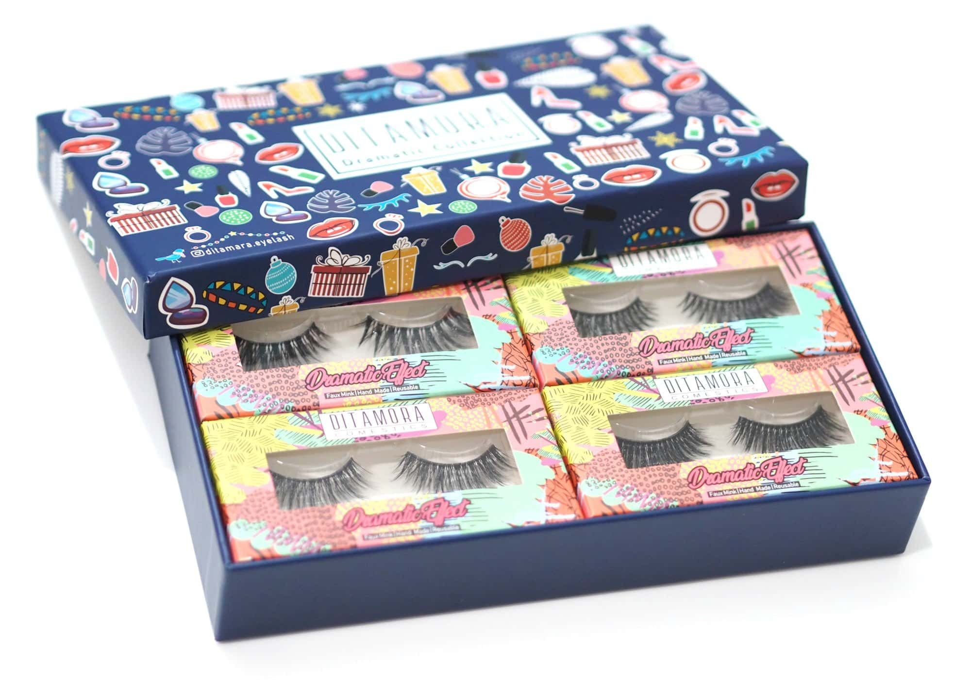 Ditamora Faux Mink Lashes Dramatic Collection Review