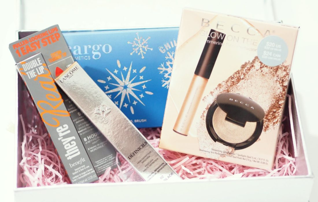 Look Incredible February Deluxe Beauty Box 2018 Unboxing and First Impressions ft Benefit, Becca, Lancome and Cargo