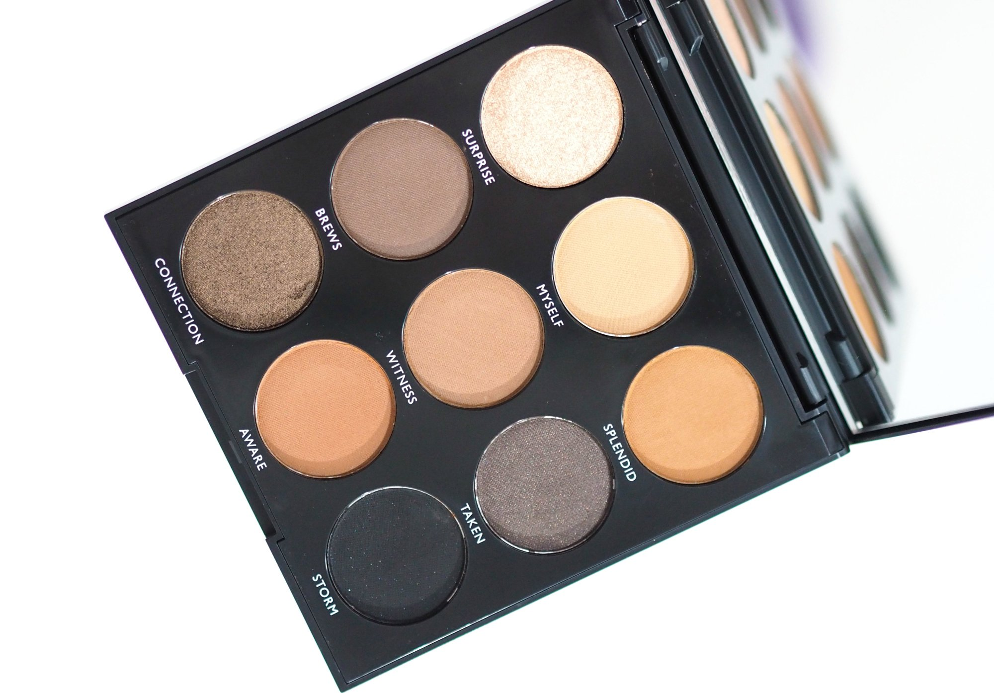 Morphe 9A Always Golden Eyeshadow Palette Review and Swatches