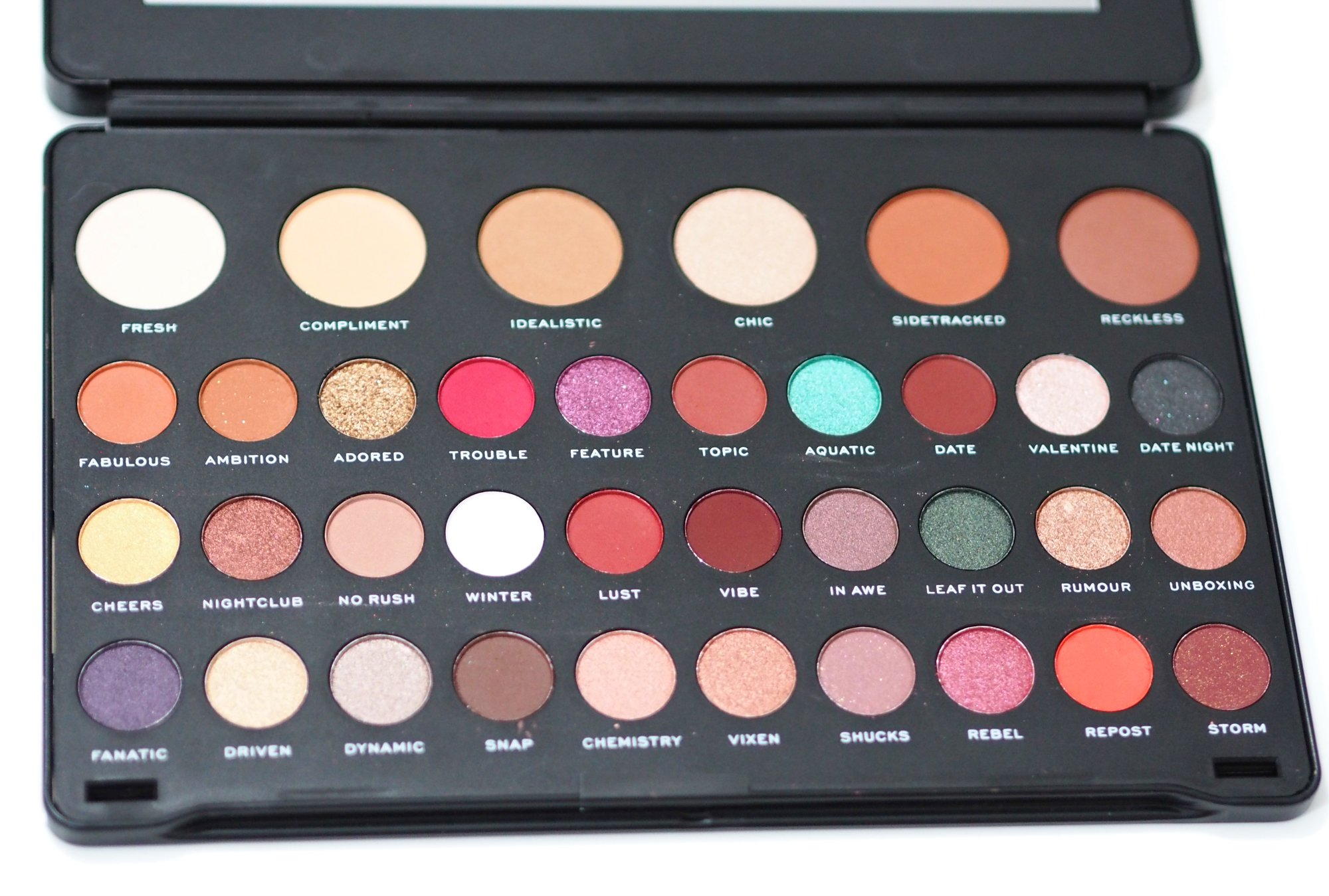Revolution Shook Eyeshadow Palette