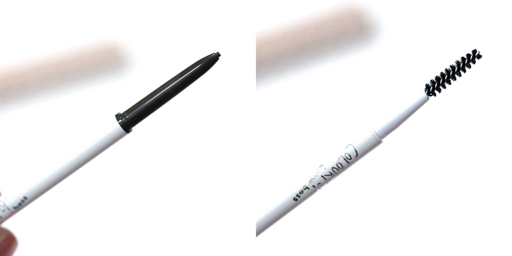 ColourPop Brow Boss Pencil Review and Swatches in Ash Brown, Mechanical Eyebrow Pencil similar to the ABH Brow Wiz (2)