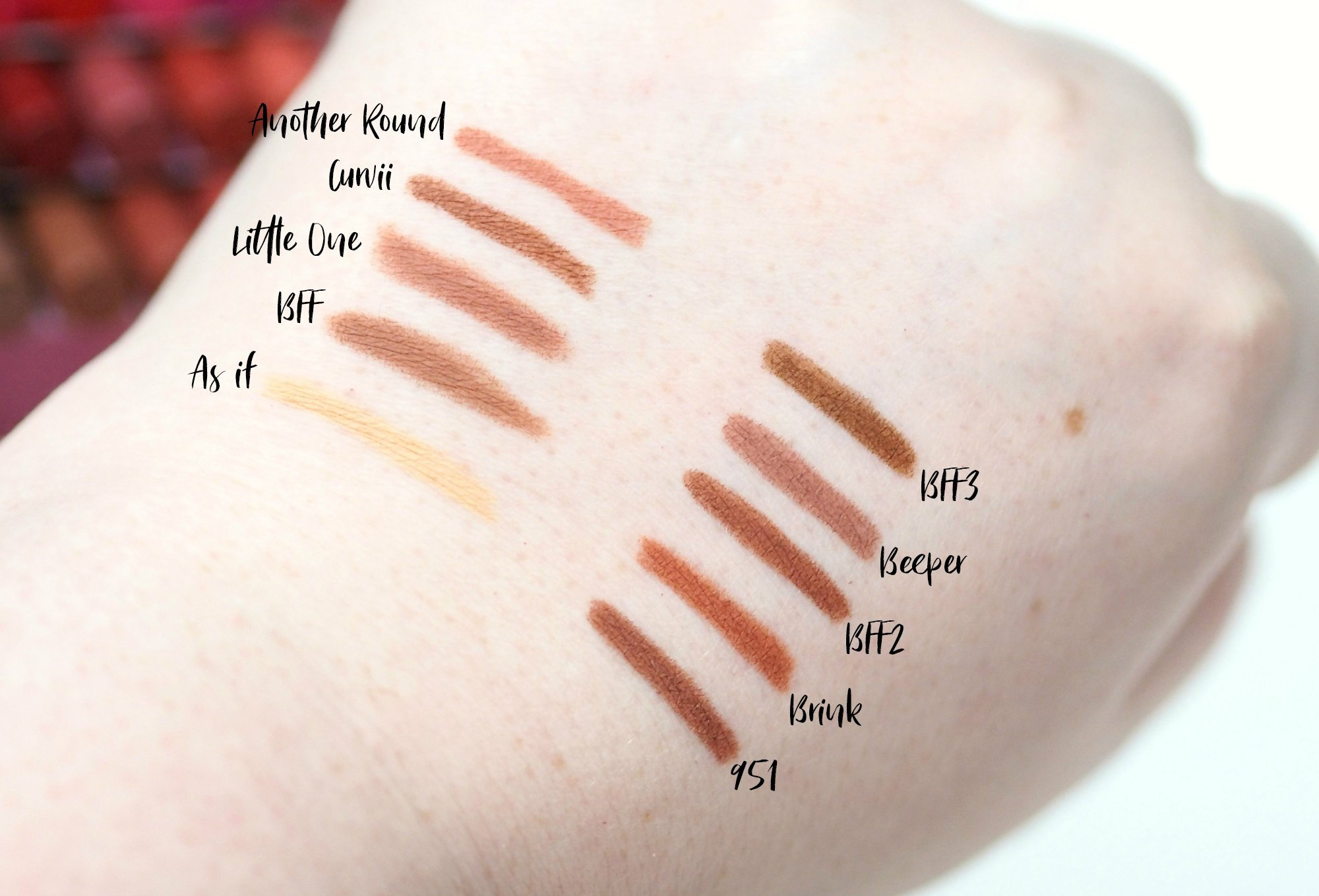 ColourPop Lippie Pencil Collection Review and Swatches - All 40 Shades