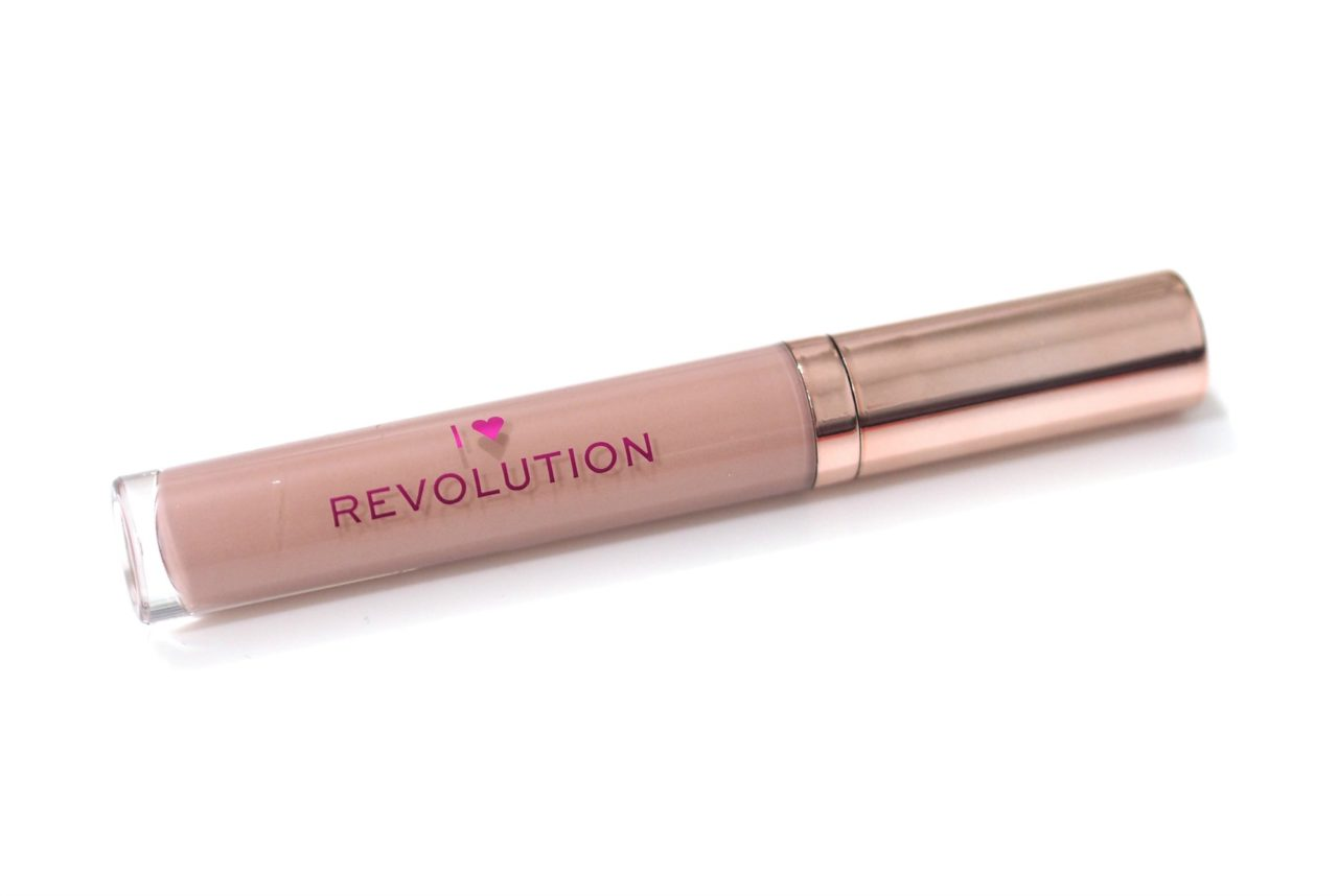 I Heart Revolution Chocolate Chip Cookie Dough Lip Gloss Review and Swatches