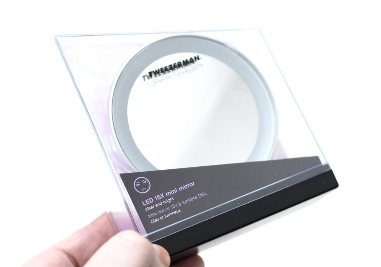 Tweezerman LED 15x Mini Mirror Review