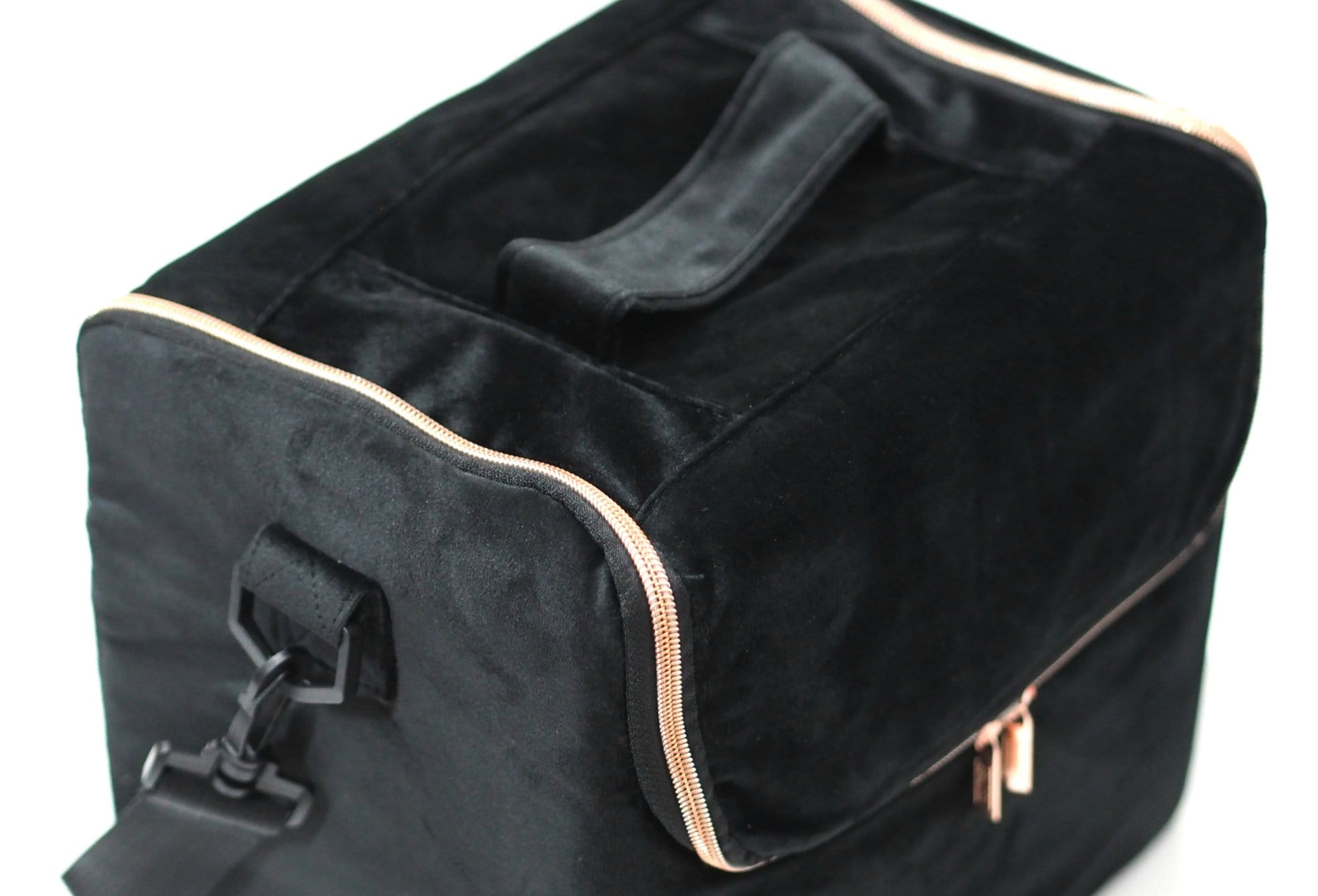 Beautify Black Velvet Makeup Case
