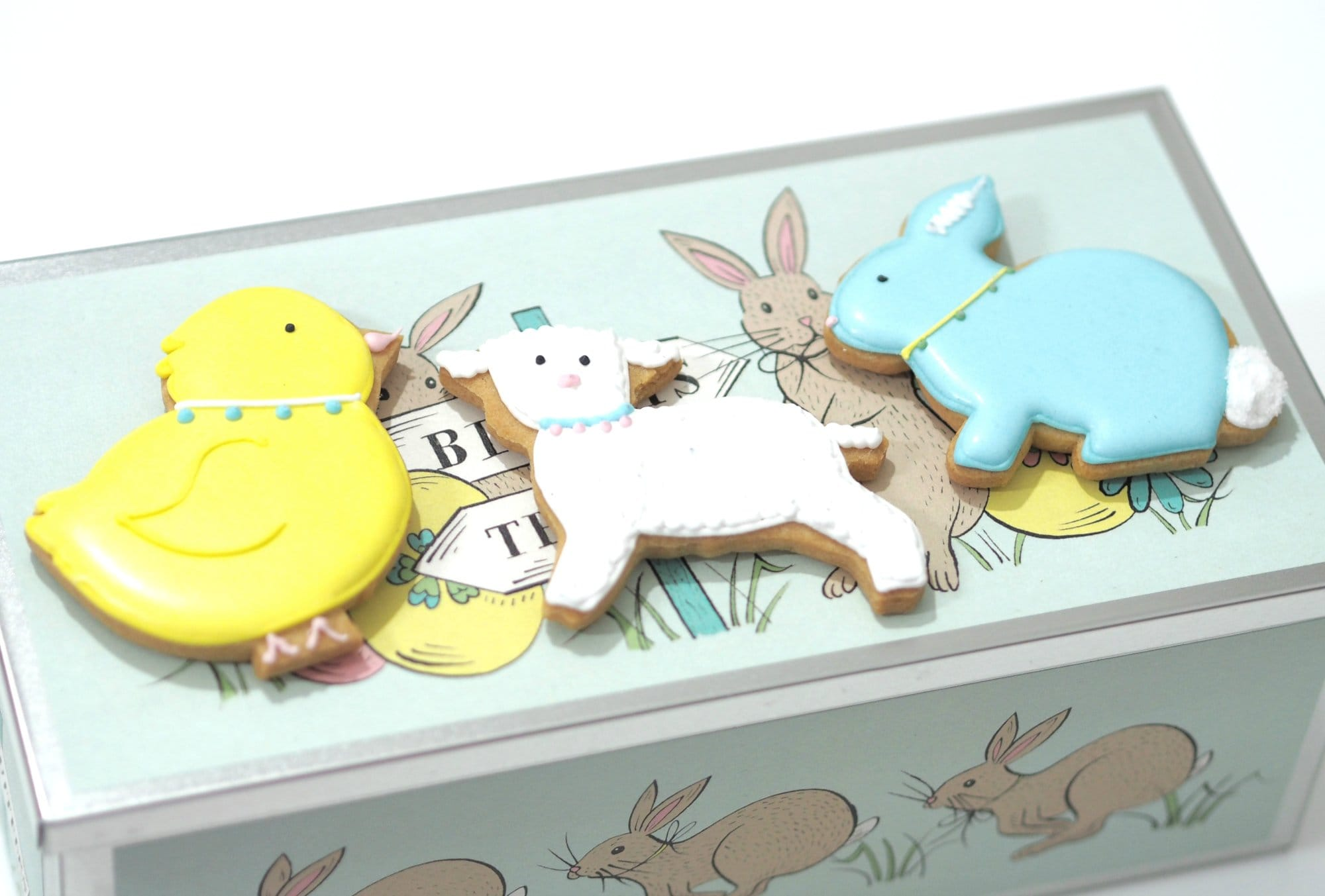 Biscuiteers Easter Party Biscuit Tin