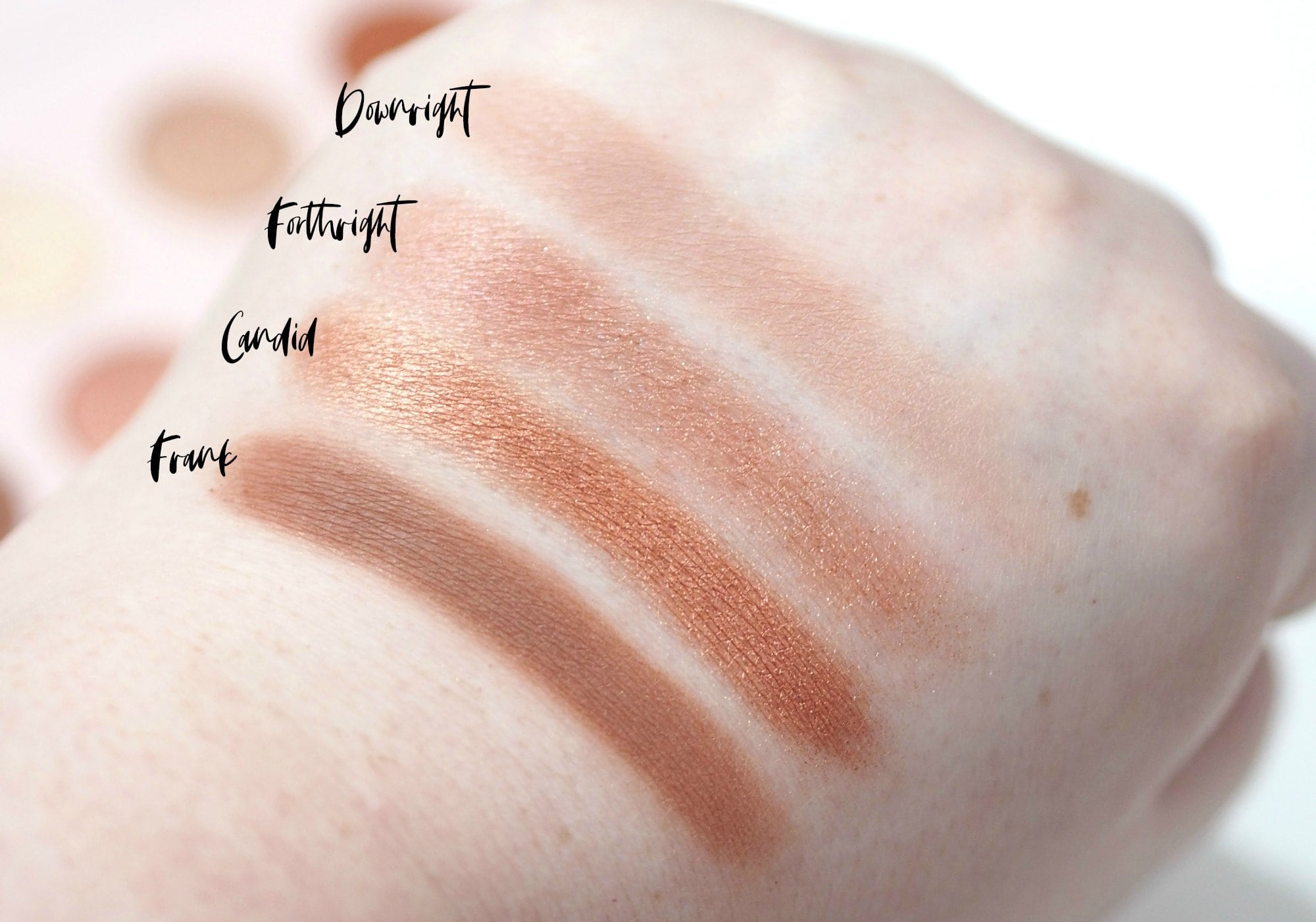ColourPop Give It To Me Straight Eyeshadow Palette Review Swatches