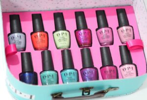 Review and Swatches of the OPI Tokyo Nail Polish Collection for Spring with all twelve shades