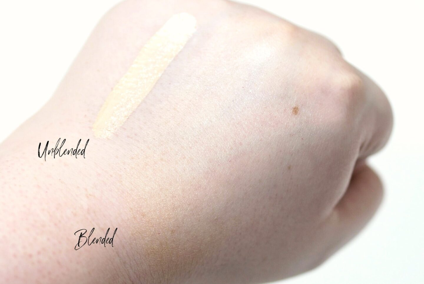Charlotte Tilbury Hollywood Flawless Filter Review and Swatches in shade 1 Fair for very fair skin