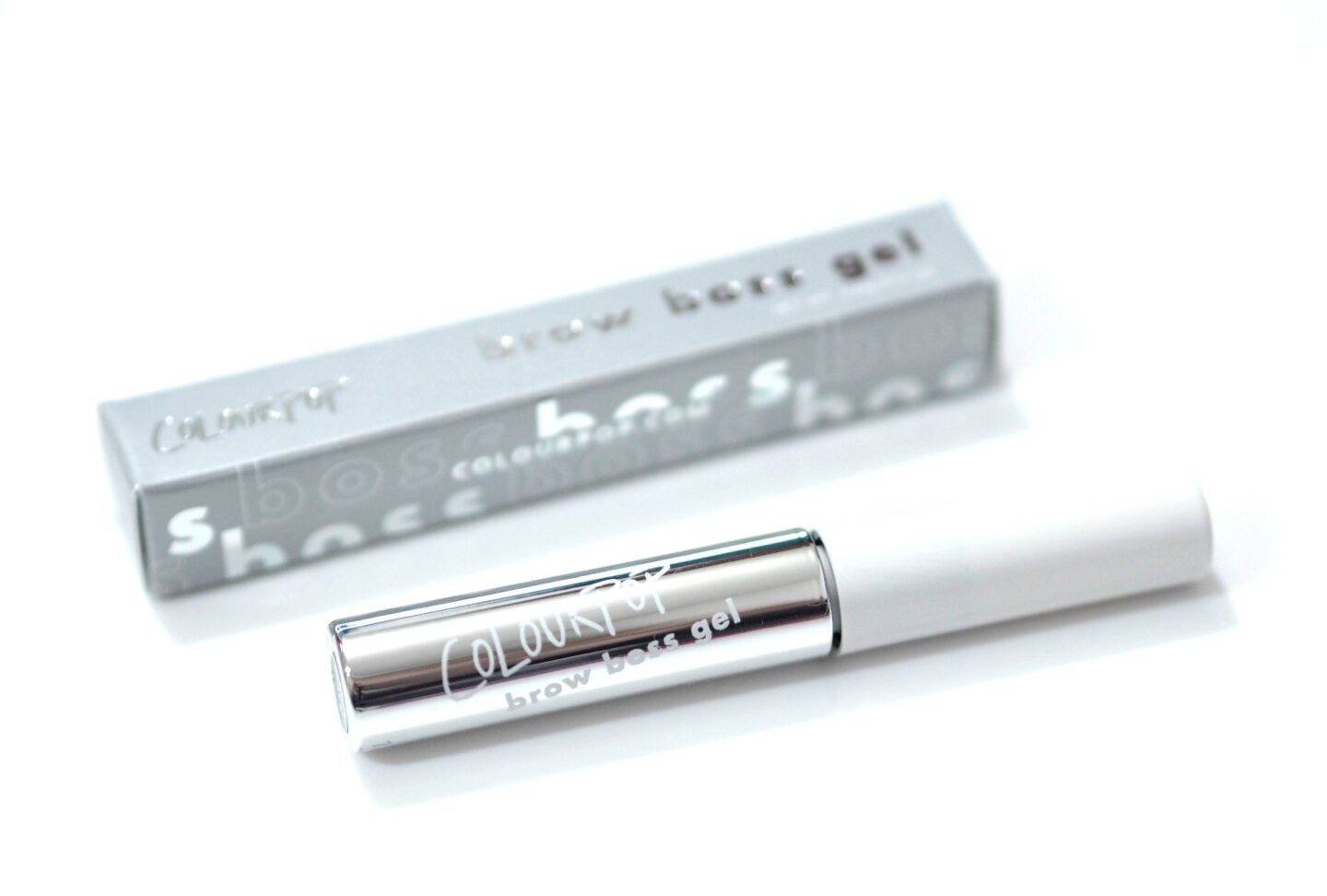 ColourPop tinted brow gel in the shade Soft Black - a possible Benefit Gimme Brow dupe