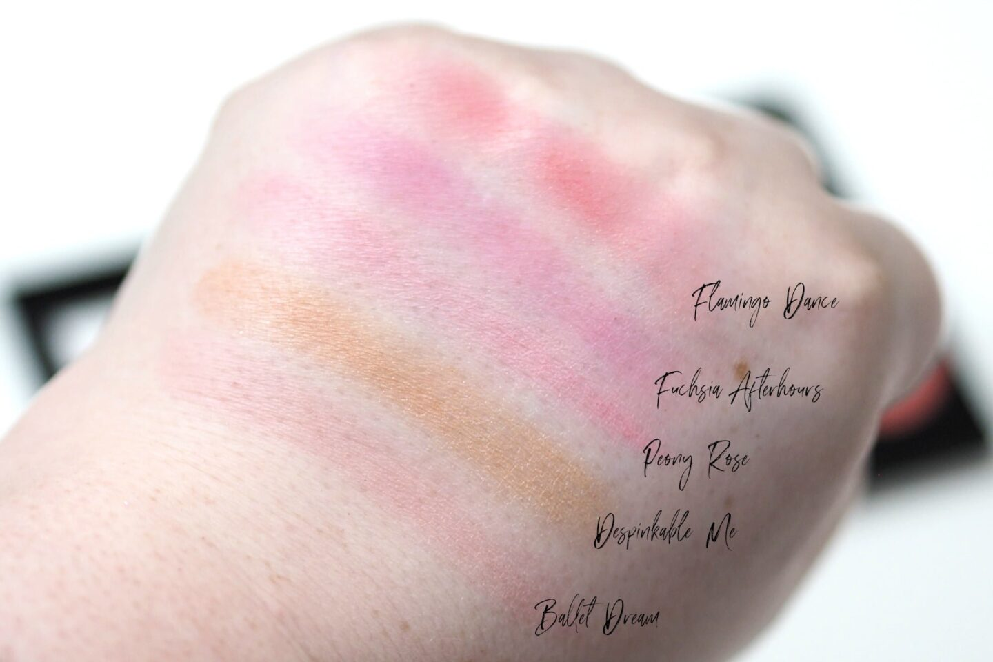 L'Oreal Infallible Paint Blush Palette Review and Swatches
