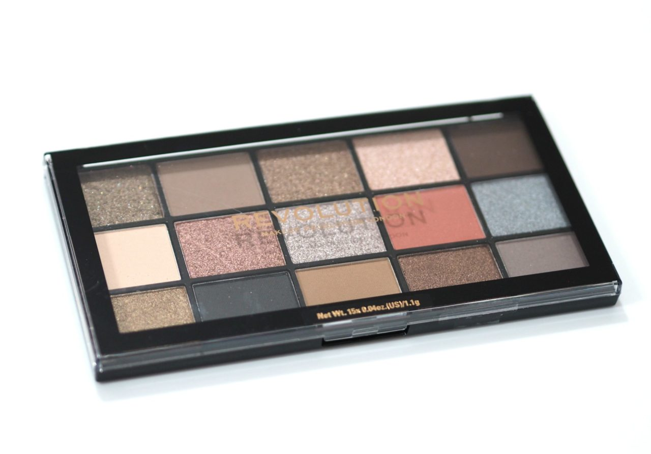 Revolution Reloaded Hypnotic Eyeshadow Palette Review and Swatches - an ABH Sultry Palette dupe