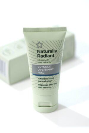 The Superdrug Naturally Radiant Glycolic Overnight Peel tube