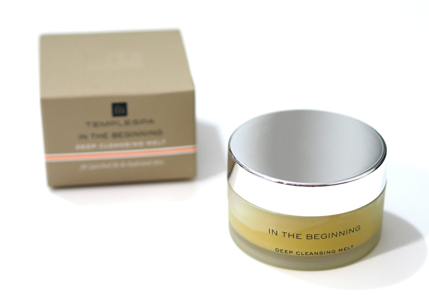 Temple Spa In The Beginning Deep Cleansing Melt & Exfoliating Balm