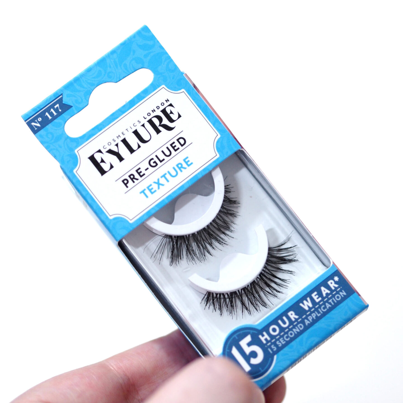 Eylure Pre-Glued False Lashes Review & Close Up Photos