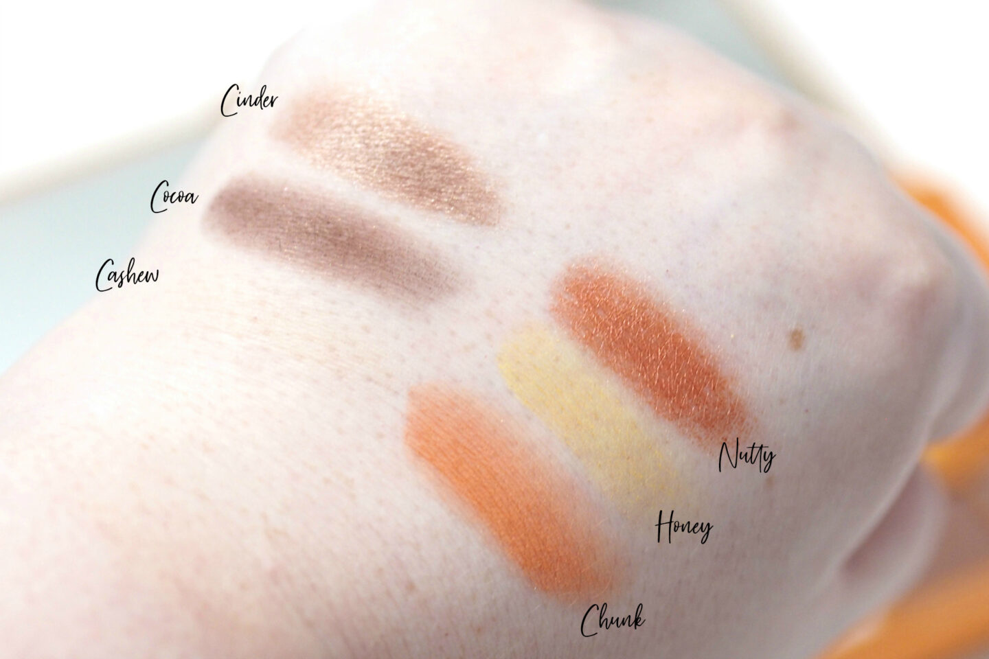 I Heart Revolution Peanut Butter Cup Chocolate Eyeshadow Palette Review and Swatches
