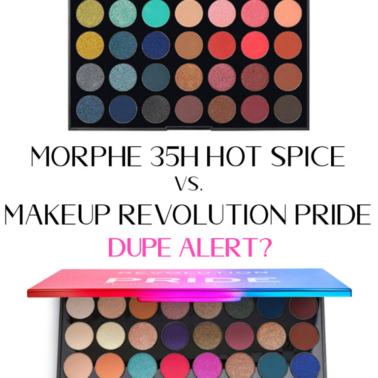 Morphe 35H Palette Vs. Makeup Revolution Pride Proud Of My Life Palette