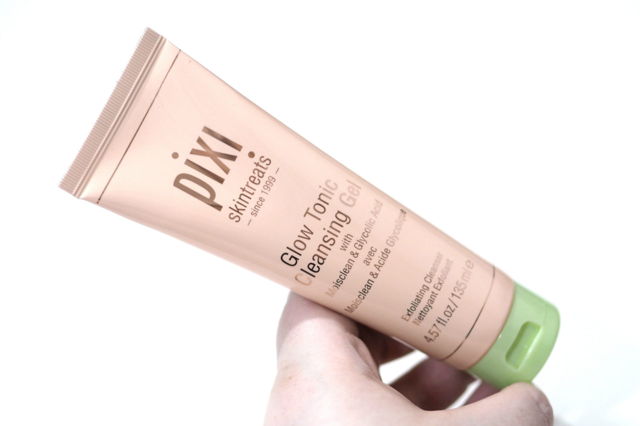 Pixi Glow Tonic Cleansing Gel Exfoliating Cleanser