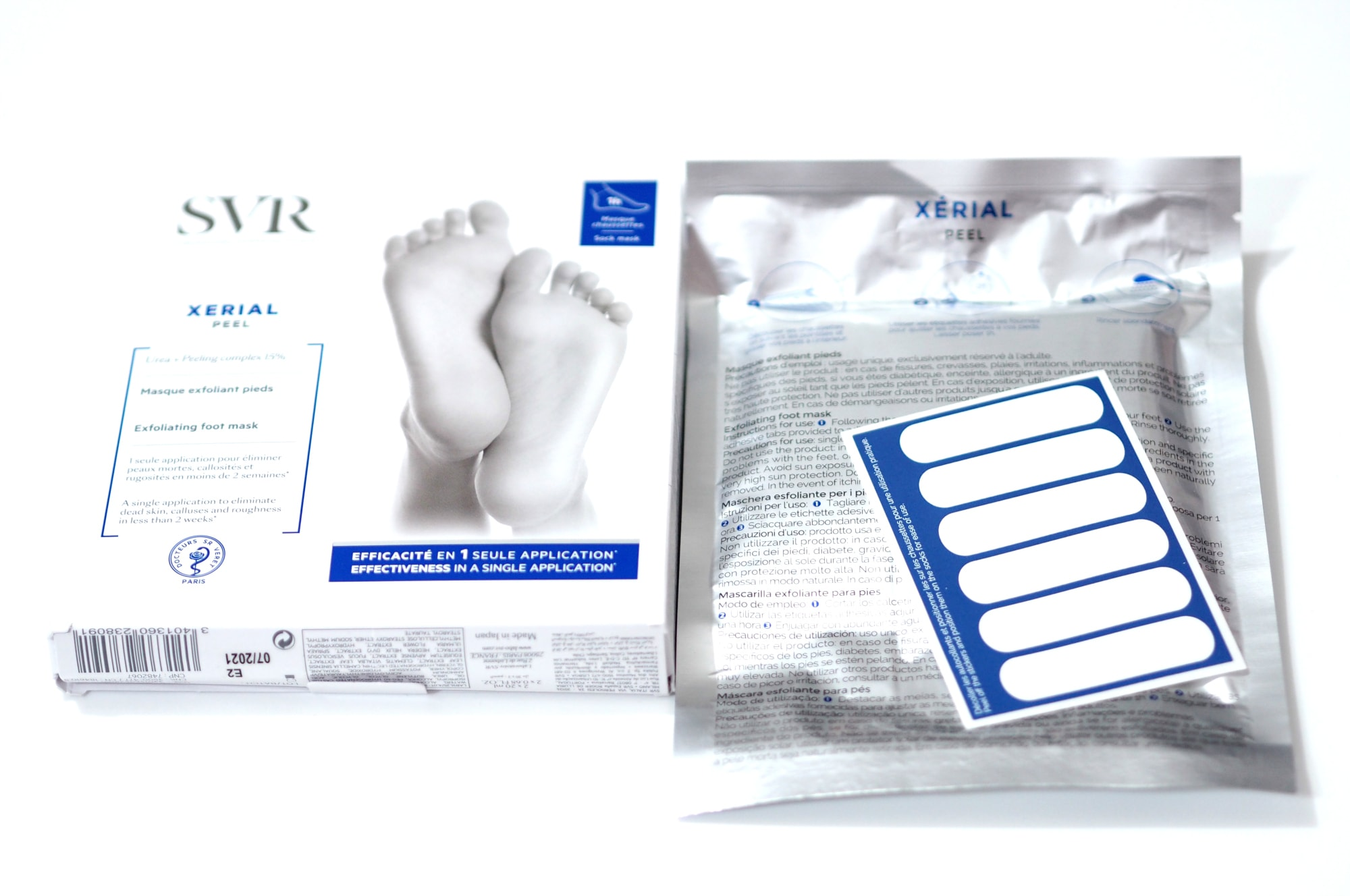 SVR Xerial Footcare | Foot Peel and Foot Cream