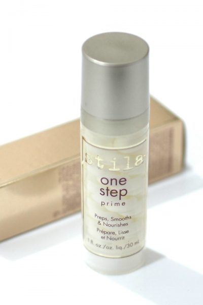 Stila One Step Prime Makeup Primer Review and Swatches